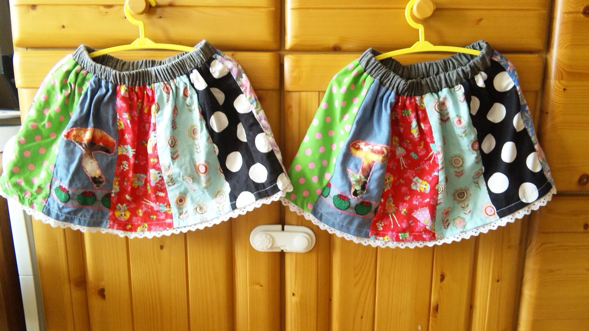 色とりどりスカート